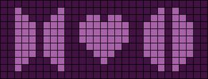 Alpha pattern #34968 variation #84817