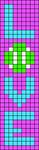 Alpha pattern #52447 variation #84888