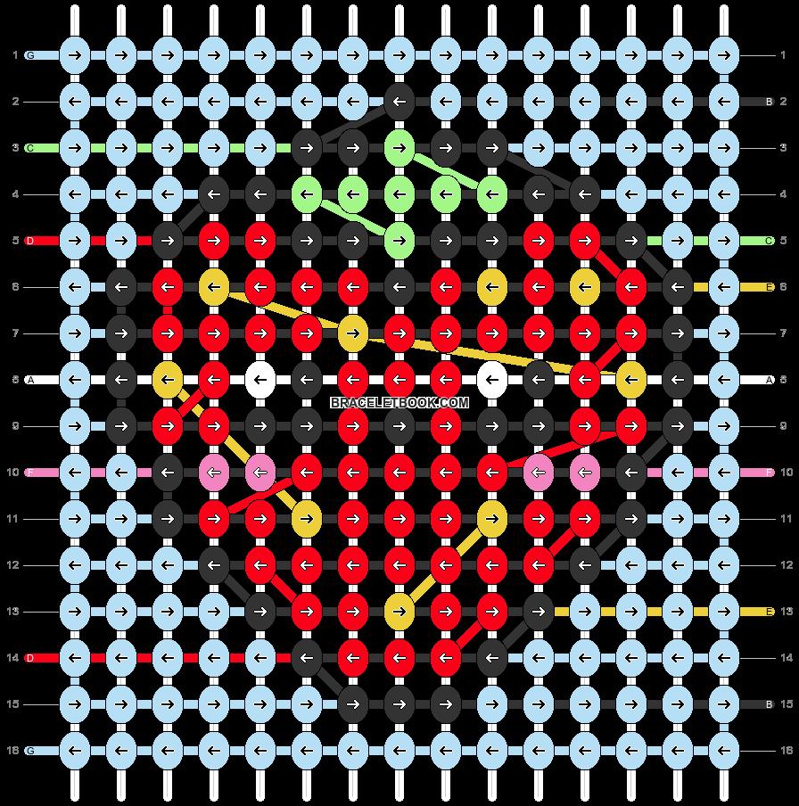 Alpha pattern #49187 variation #84896 pattern