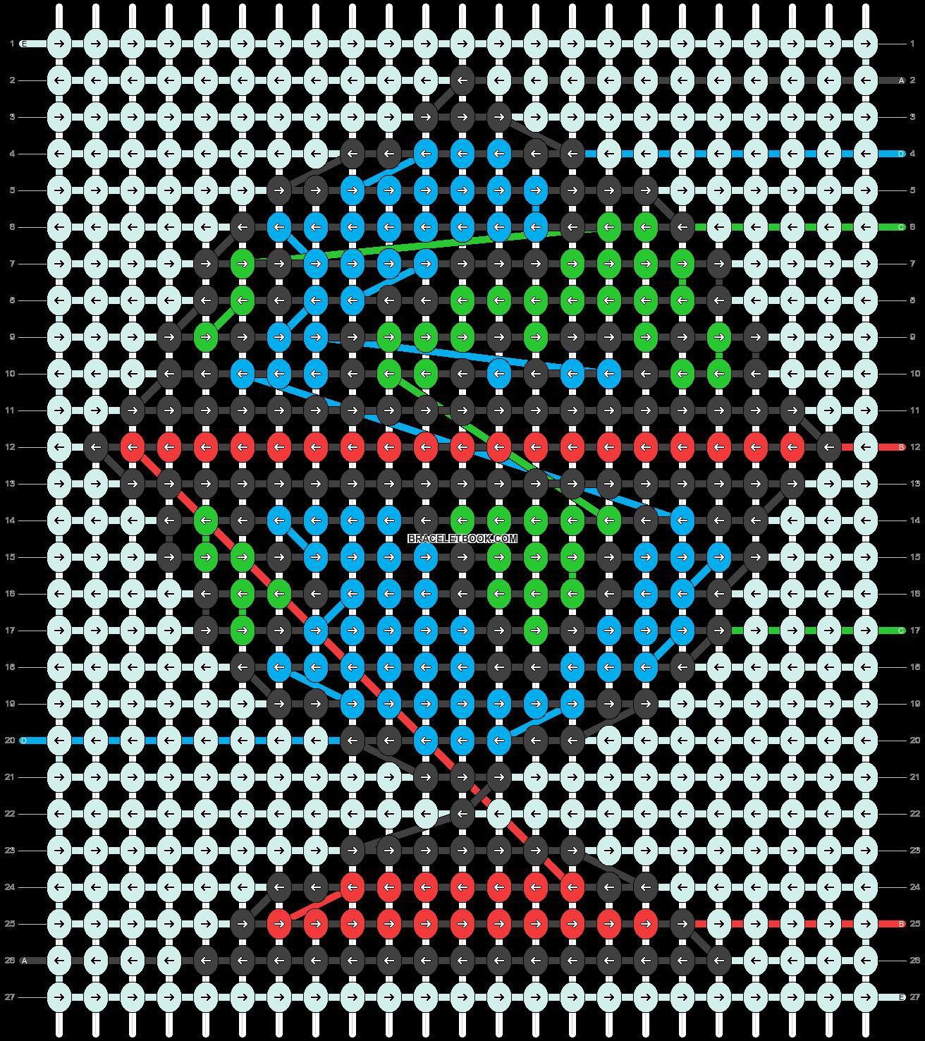 Alpha pattern #52453 variation #84899 pattern