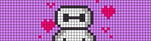 Alpha pattern #45863 variation #85364