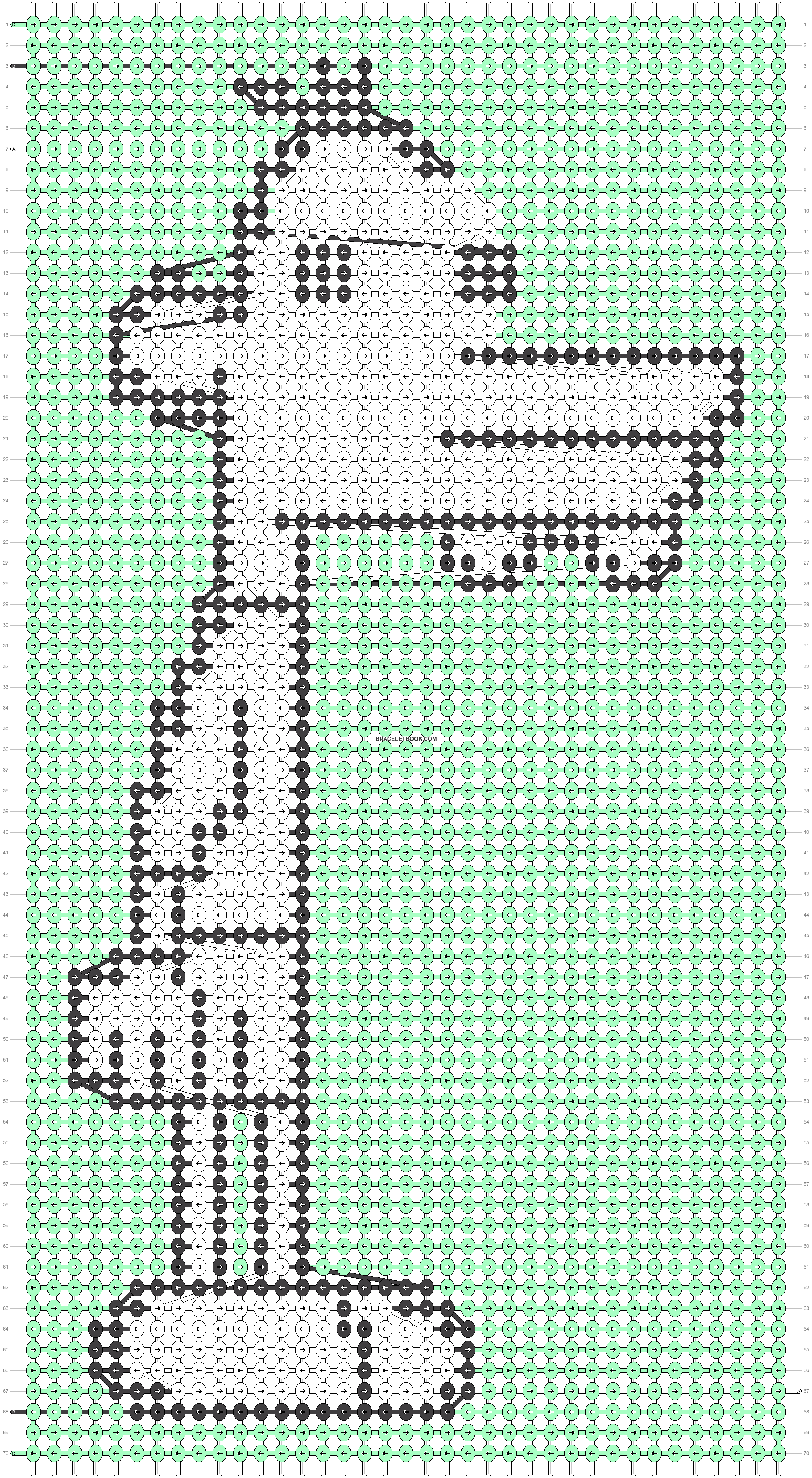 Alpha pattern #38373 variation #85428 pattern