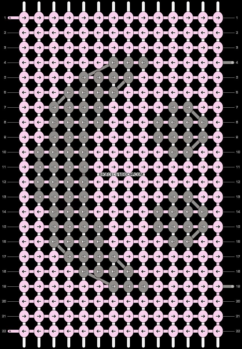 Alpha pattern #52512 variation #85526 pattern