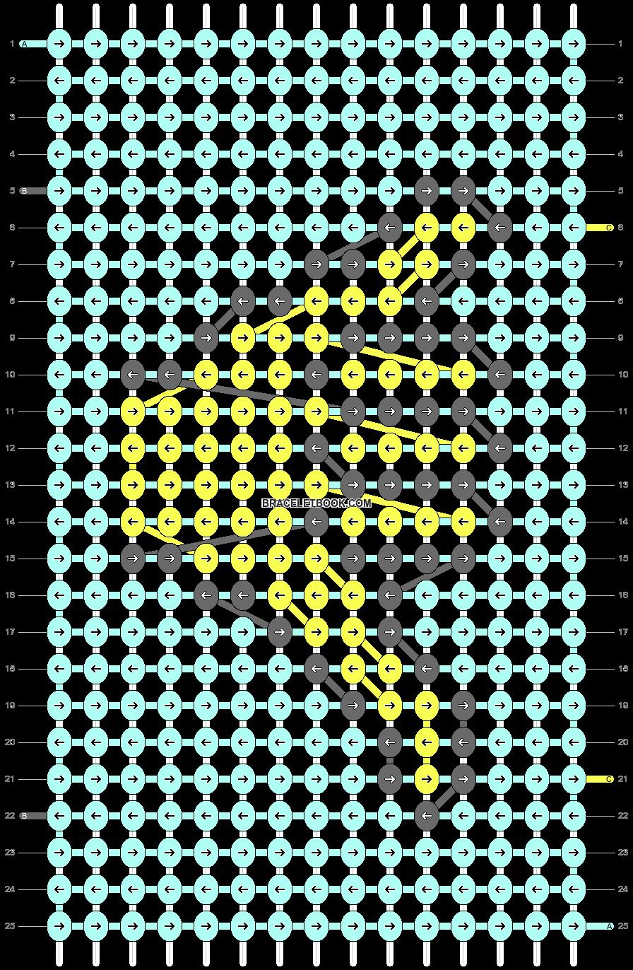 Alpha pattern #26788 variation #87099 pattern