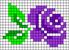 Alpha pattern #51017 variation #87558