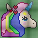 Alpha pattern #52225 variation #87862