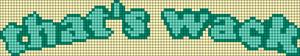 Alpha pattern #49871 variation #88372