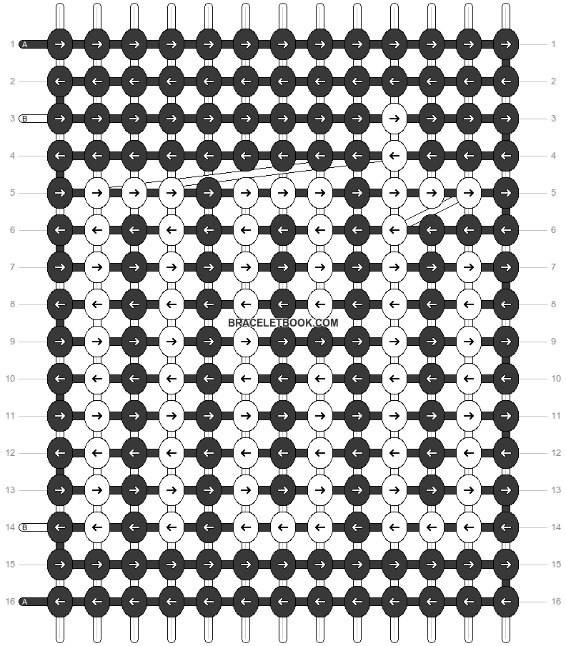 Alpha pattern #53353 variation #89803 pattern