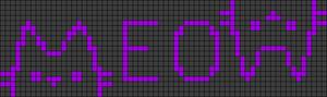 Alpha pattern #22906 variation #90270