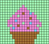 Alpha pattern #7369 variation #90547