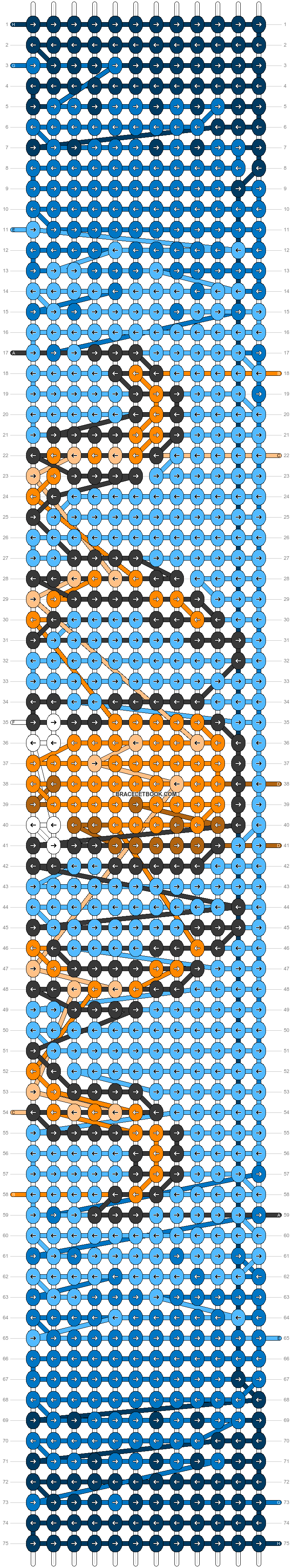 Alpha pattern #52008 variation #91061 pattern