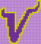 Alpha pattern #2756 variation #91500