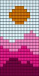 Alpha pattern #54258 variation #91826