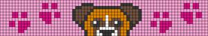 Alpha pattern #54186 variation #92105