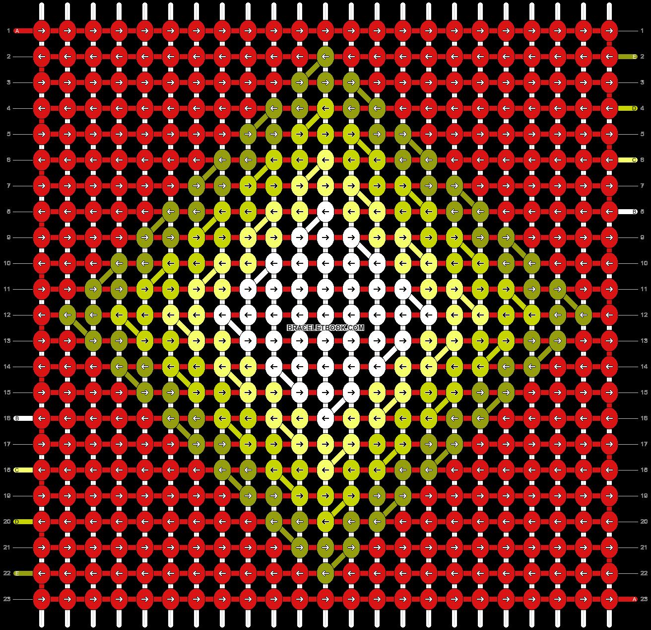 Alpha pattern #54385 variation #92134 pattern