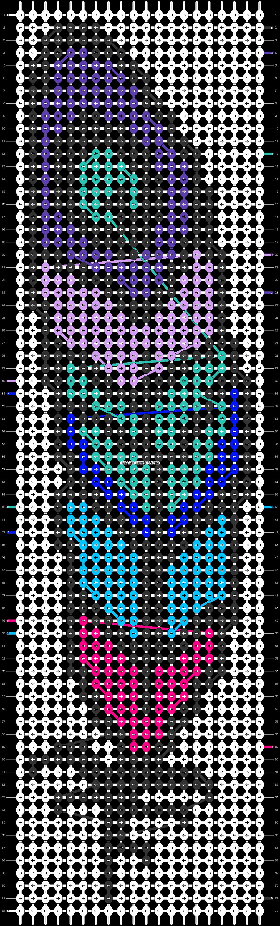 Alpha pattern #29227 variation #92630 pattern