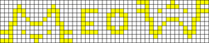 Alpha pattern #29169 variation #92697