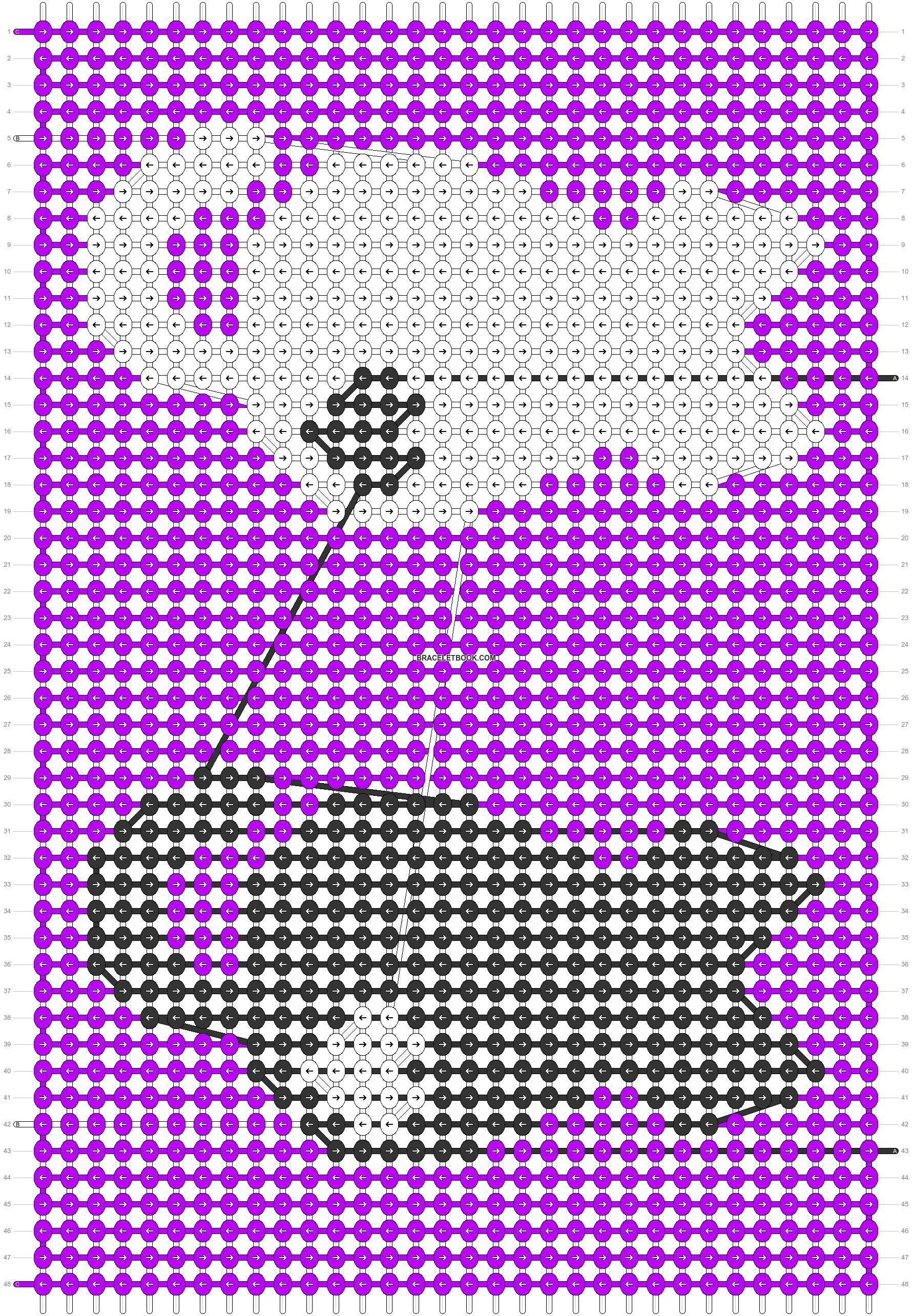 Alpha pattern #54503 variation #92770 pattern