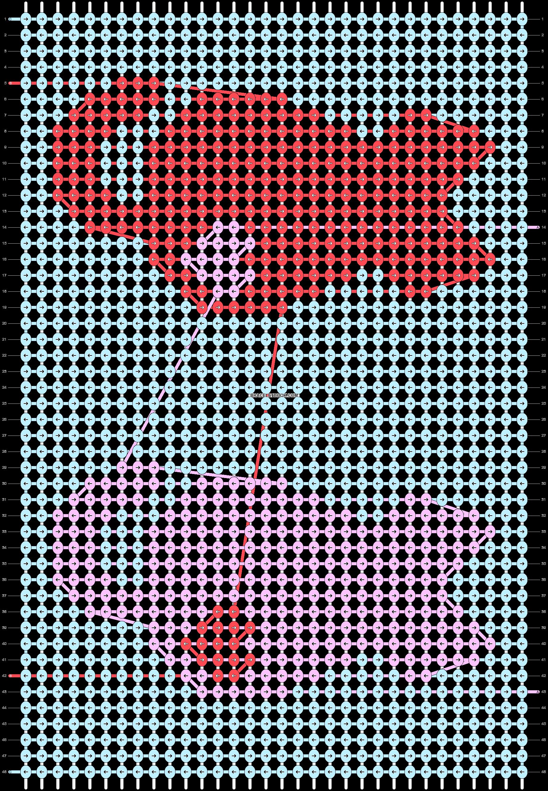 Alpha pattern #54503 variation #92816 pattern