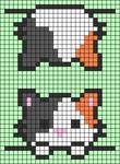 Alpha pattern #54155 variation #93174