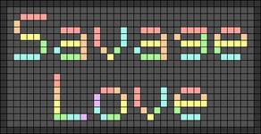 Alpha pattern #55007 variation #94727