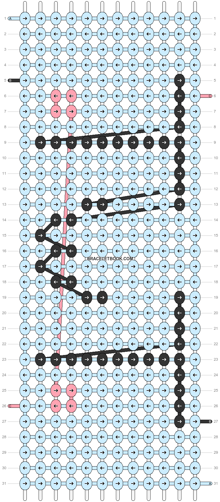 Alpha pattern #55109 variation #95278 pattern