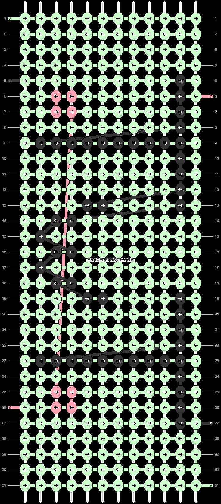 Alpha pattern #55109 variation #95279 pattern