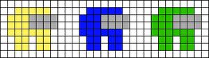 Alpha pattern #55151 variation #95298