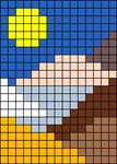 Alpha pattern #31520 variation #95511