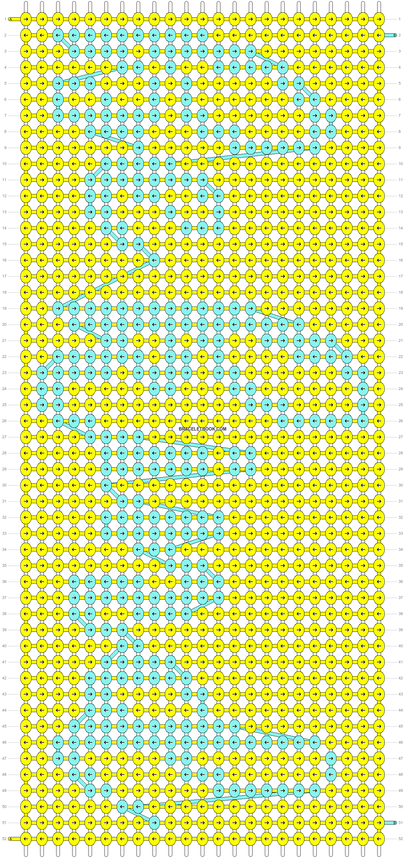 Alpha pattern #54901 variation #95730 pattern