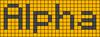 Alpha pattern #696 variation #96496