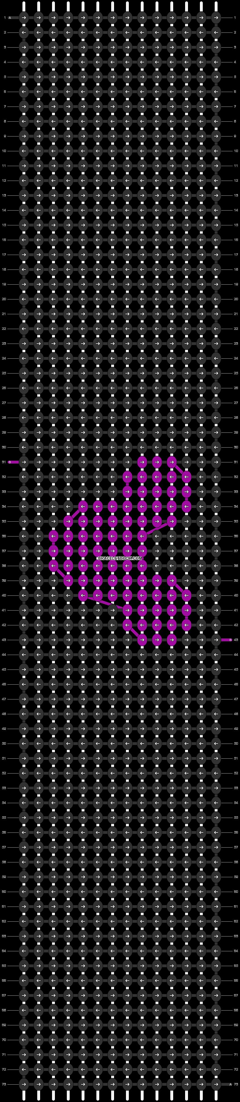Alpha pattern #54139 variation #97003 pattern