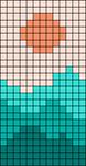 Alpha pattern #54258 variation #97227