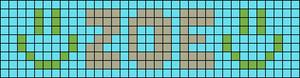 Alpha pattern #1205 variation #98826