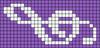Alpha pattern #18296 variation #98928