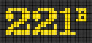 Alpha pattern #12754 variation #98957