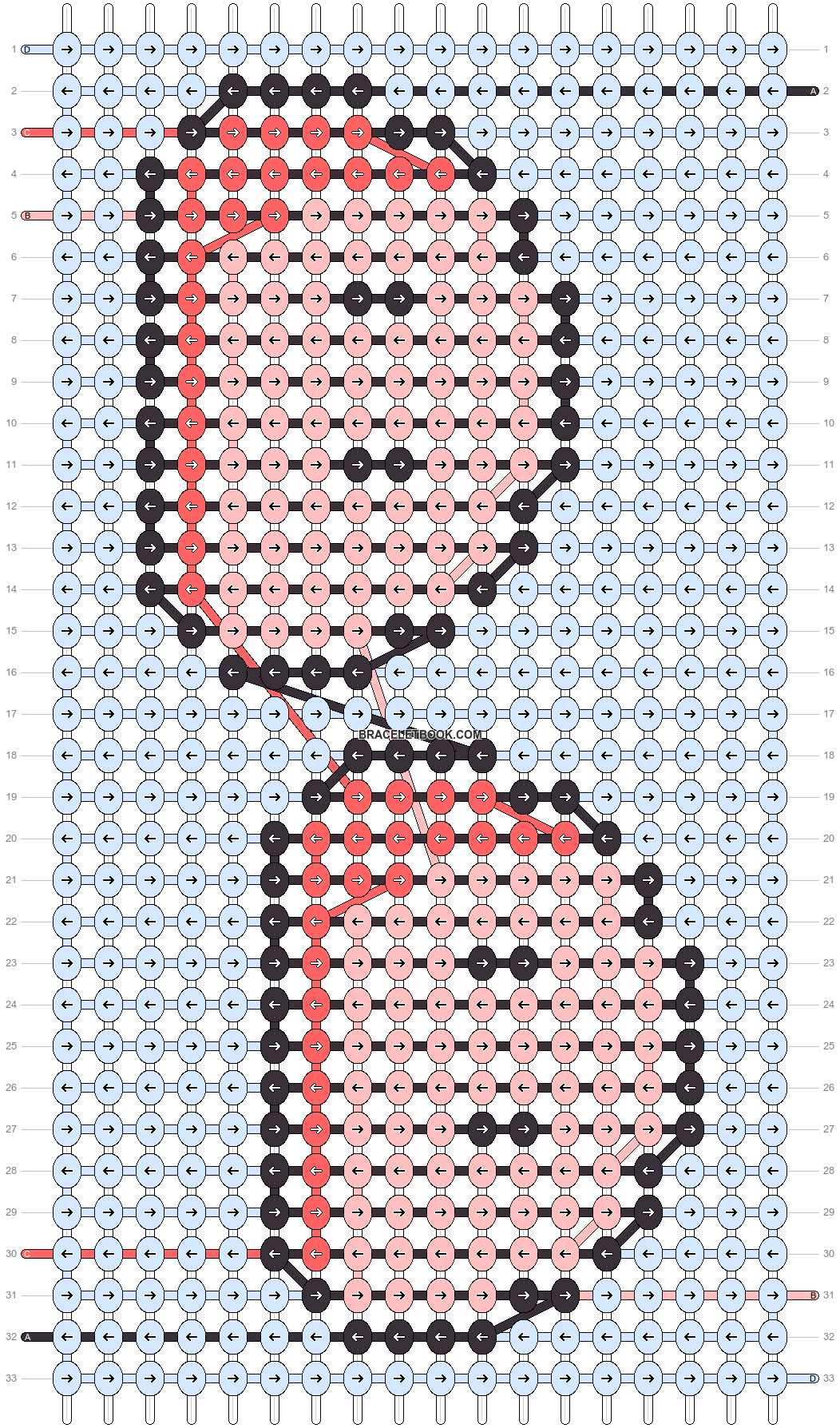 Alpha pattern #56731 variation #99051 pattern