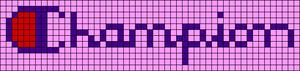 Alpha pattern #57271 variation #99707