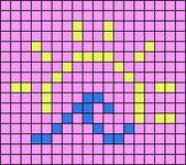 Alpha pattern #47566 variation #100096