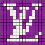 Alpha pattern #55661 variation #100120