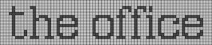 Alpha pattern #27622 variation #100737