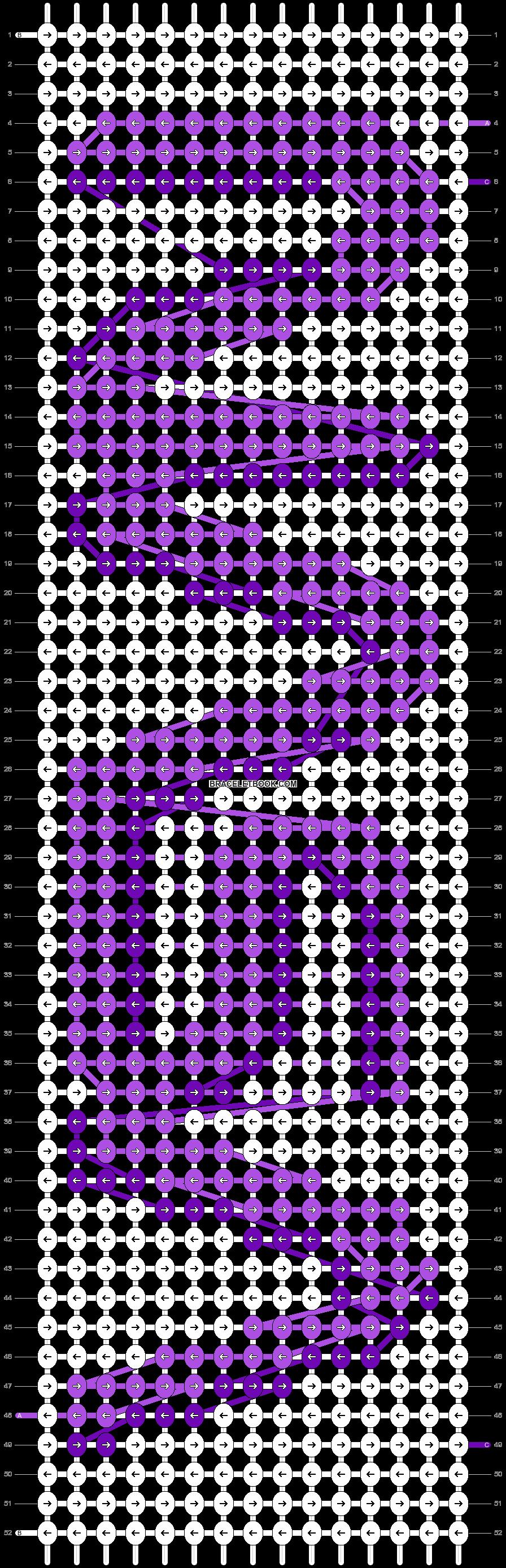 Alpha pattern #57624 variation #100774 pattern