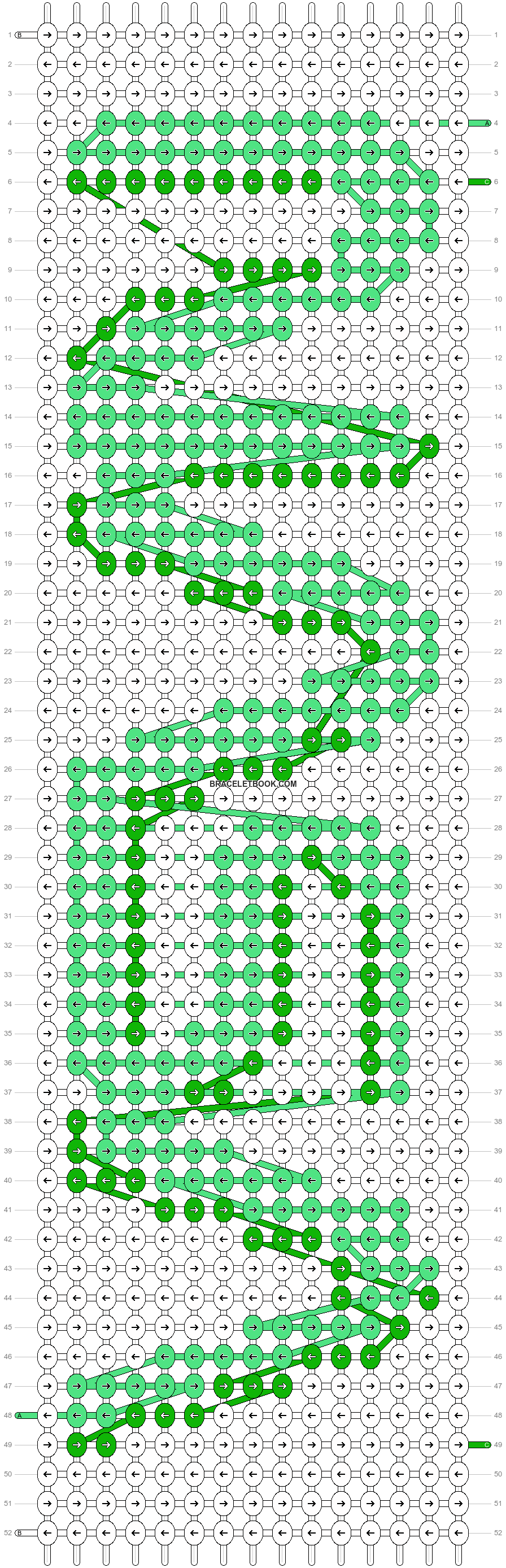 Alpha pattern #57624 variation #101106 pattern