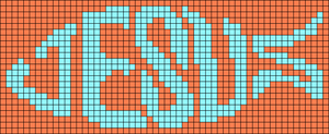 Alpha pattern #7624 variation #101781