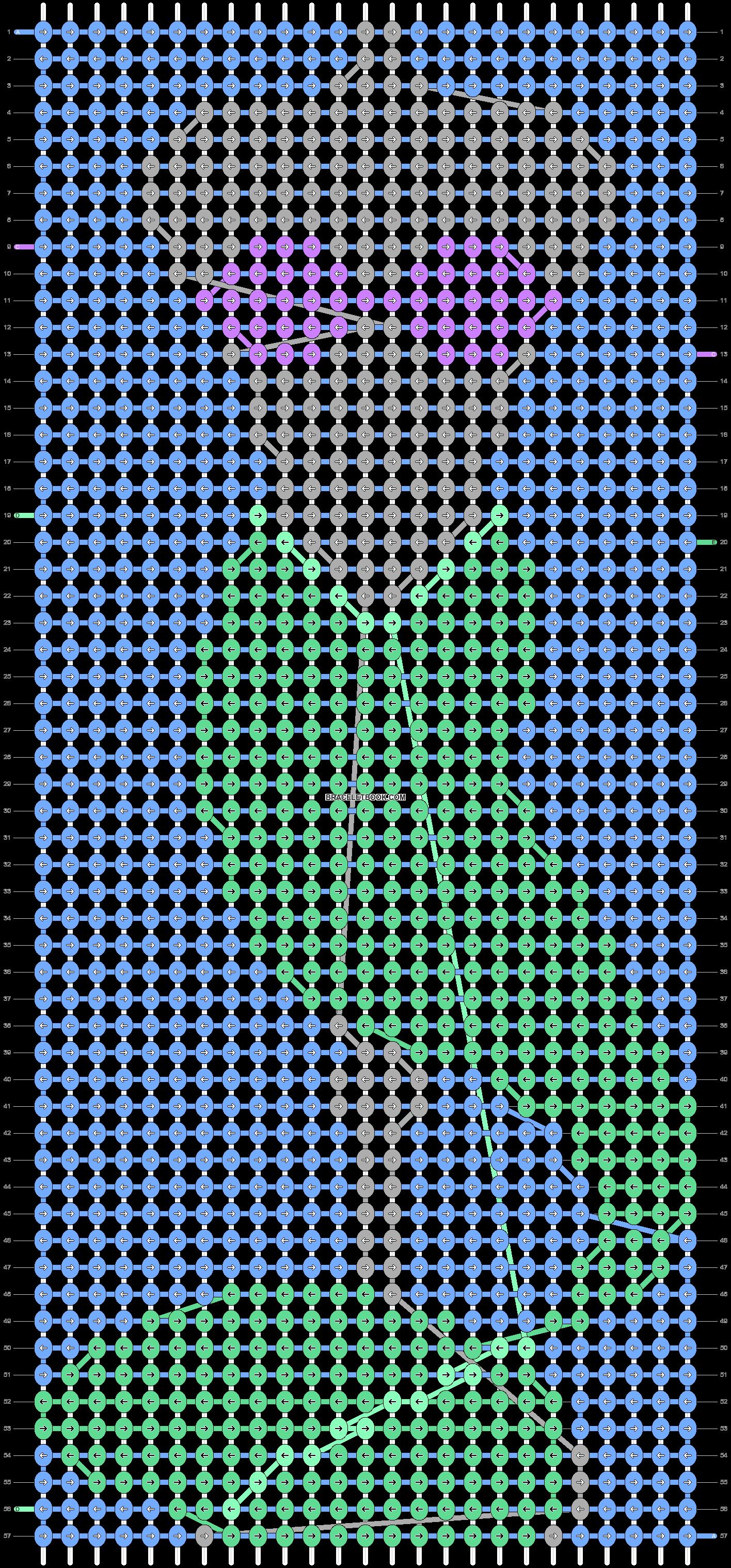 Alpha pattern #57138 variation #102358 pattern