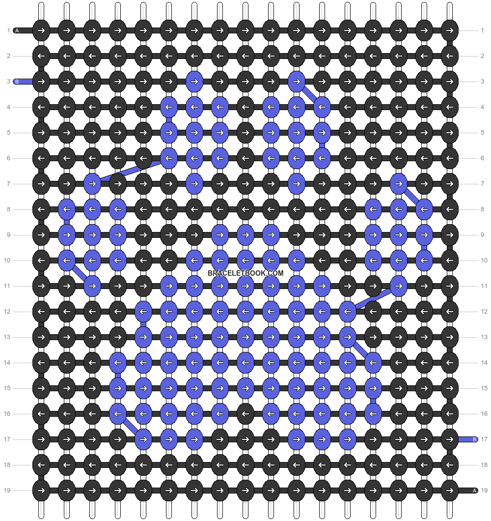 Alpha pattern #58032 variation #102368 pattern