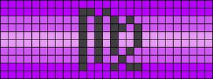 Alpha pattern #48638 variation #102372