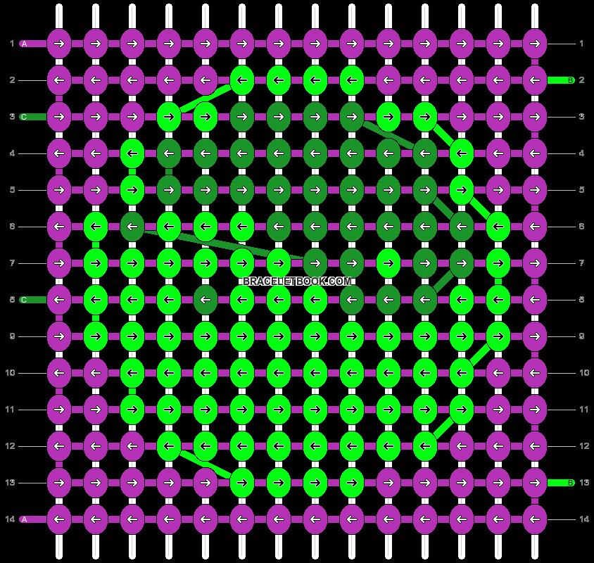 Alpha pattern #8938 variation #102373 pattern