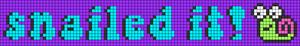 Alpha pattern #58260 variation #102865