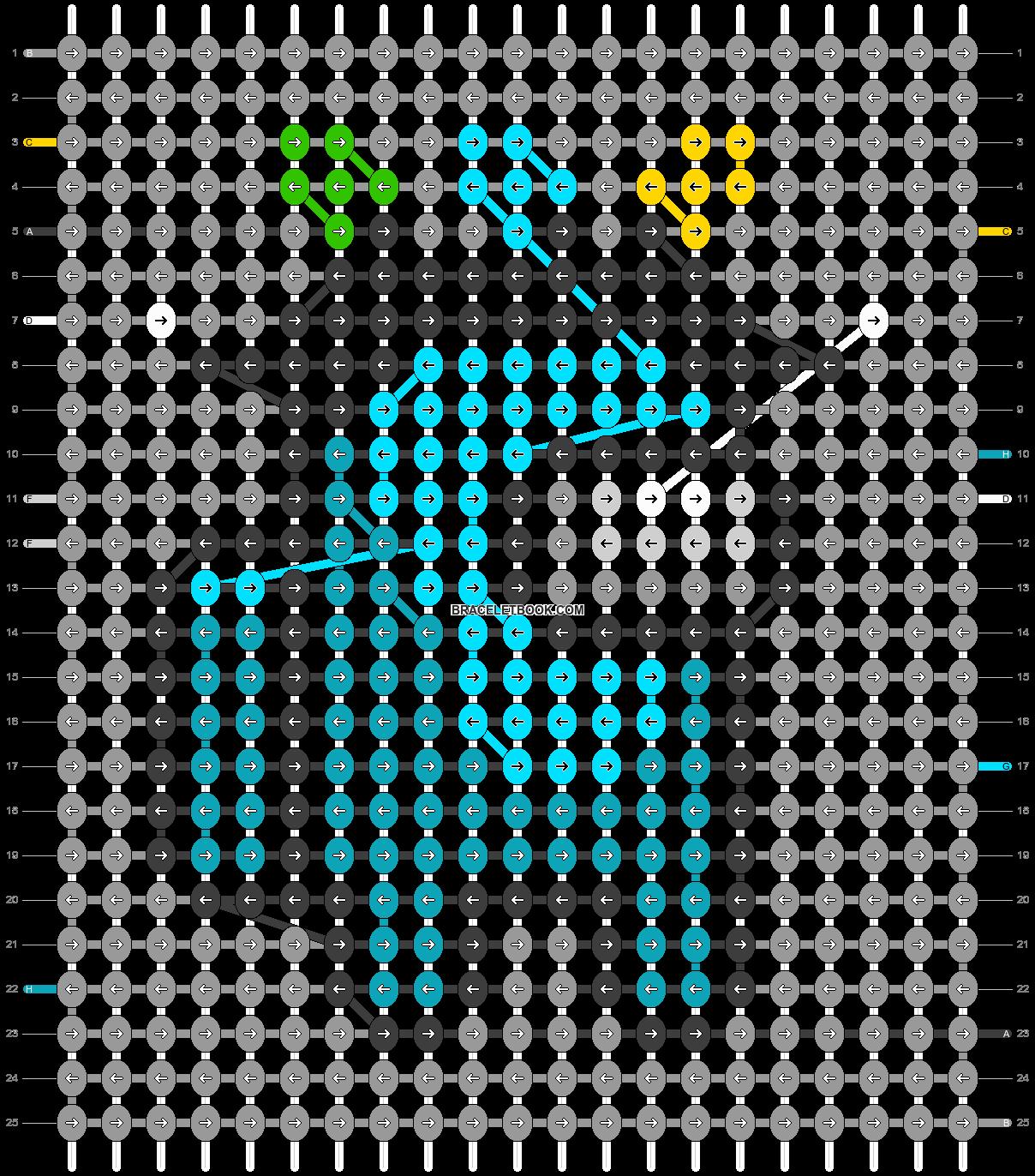 Alpha pattern #57555 variation #103902 pattern